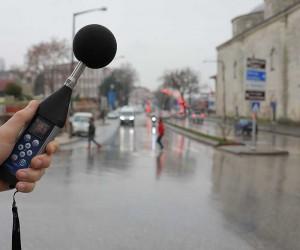 Edirne'nin gürültü haritası hazırlanıyor