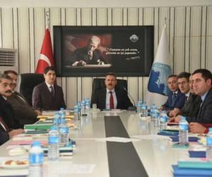 İŞKUR Daire Başkanı Sinan Temur Ağrı'da
