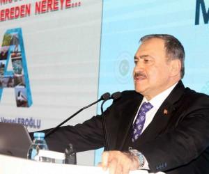 """Bakan Eroğlu: """"Dünyada 2,5 milyara yakın insan su sıkıntısı çekiyor"""""""