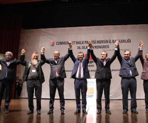 CHP Mersin İl Başkanlığı'na Adil Aktay seçildi