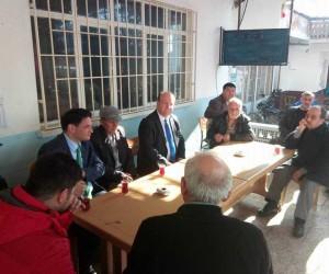 Başkan Mesut Özakcan, mahalle ziyaretlerini sürdürüyor
