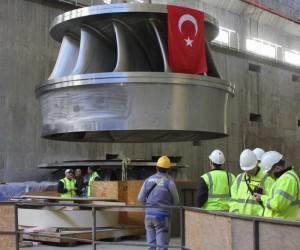 Ilısu Barajı ve HES inşaatında önemli bir safha daha tamamlandı