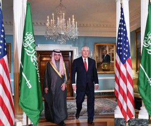 ABD Dışişleri Bakanı Tillerson, Suudi mevkidaşıyla biraraya geldi