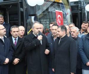 Aktaş'tan otobüs şoförlerine göz dağı