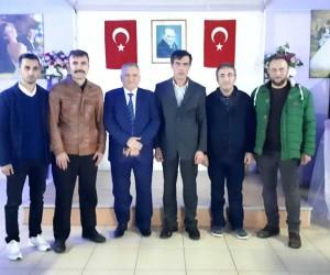Yenice Esnaf Odalarının yeni başkanı Cevdet Abaoğlu oldu
