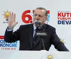 """Cumhurbaşkanı Erdoğan: """"Figüranlık yapmak yerine oyun kuran tuzak bozan bir Türkiye var"""""""