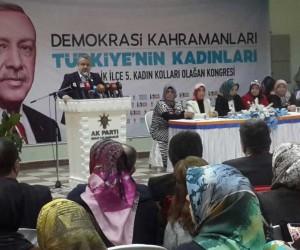 """Salman: """"Kadınlarımız partimizin ve ülkemizin gücüne güö katıyor"""""""