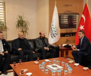 Bilal Erdoğan'dan Esenyurt Belediye'sine hayırlı olsun ziyareti