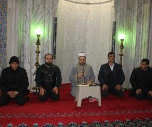 Afrin operasyonu için Balıklıgöl Dergah Camisi'nde Fetih Suresi okundu
