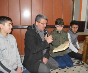 Turgutlu'da Afrin için Fethi Suresi okundu