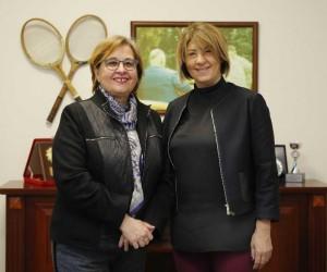 Pekdaş'tan Kültürpark Tenis Kulübüne ziyaret