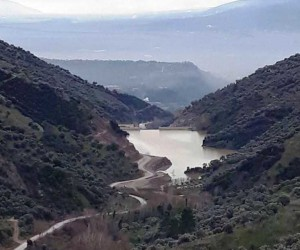 Yağışlar İsabeyli Barajı'nı doldurdu