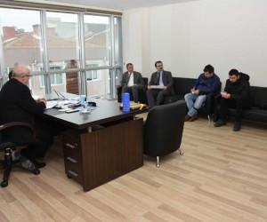 Başkan Kadir Albayrak, basın mensupları ile buluştu