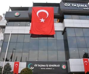 """Öz Taşıma-İş Sendikası Genel Başkanı Toruntay: """"Dualarımızı şanlı Türk ordumuza gönderiyoruz"""""""