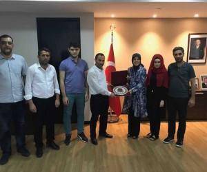 Bilecik'ten Malezya'ya giden Türk heyeti Büyükelçisi Merve Kavakçı'yı ziyaret etti