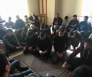 """Erzurum Uluslararası Öğrenci Derneği Başkanı Halis: """"Dualarımız Türk ordusu için"""""""