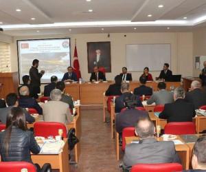 Şırnak'ta 2018'in ilk il koordinasyon toplantısı yapıldı