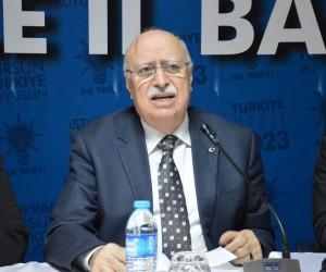 """AK Parti'li Tunç: """"Türkiye üç cephede savaşıyor"""