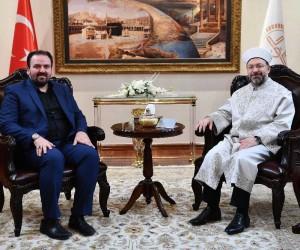 """Diyanet İşleri Başkanı Erbaş: """"Kudüs, İslam medeniyetinin en önemli miraslarındandır"""""""