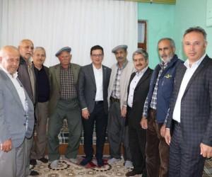AK Partili Atay Uslu, yörük beyleriyle buluştu