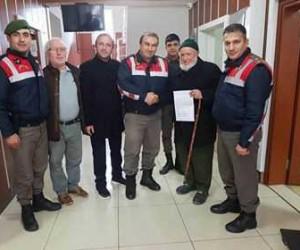 Giresunlu 86 yaşındaki Yakup dede 'Zeytin Dalı' için gönüllü askerlik dilekçesi verdi