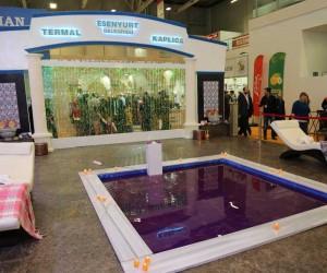 Esenyurt kaplıcaları ve parklarıyla EMITT'te tanıtıldı
