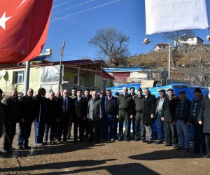Köylüler Zeytin Dalı Harekatı'nın zaferle sonuçlanması için Mevlid-i Şerif programı düzenlendi