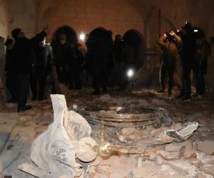 Diyanet İşleri Başkanı Erbaş, Çalık Camii'nde incelemelerde bulundu