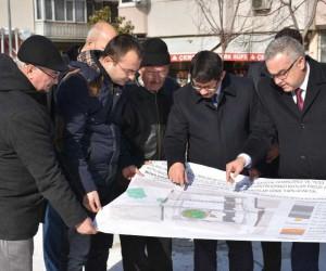 Başkan Çelik Adil Aygül Parkında incelemelerde bulundu