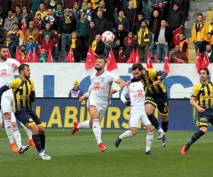 TFF 1. Lig: MKE Ankaragücü: 0 - Altınordu: 2