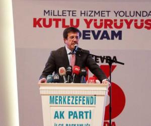 """Bakan Zeybekci: """"İsviçre'de başı dik bir Türkiye ekonomisi vardı"""""""