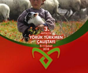 Muratpaşa 3'üncü Antalya Yörük Türkmen Çalıştayı'nı topluyor