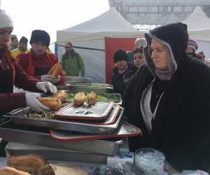 Erciyes'te hamsi festivali yapıldı