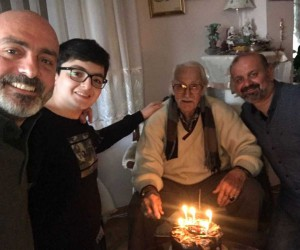 Eşref Kolçak'a sürpriz doğum günü