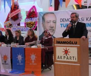 """Ünüvar: """"AK Parti, ülkeye hizmetin buluşma noktası"""""""