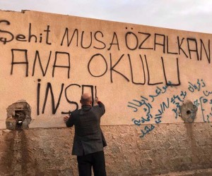 'Telafer Şehit Musa Özalkan Anaokulu' için ilk kazma vuruldu