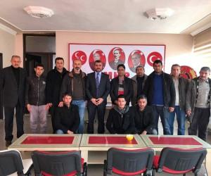Taşeron İşçiler Avşar'dan destek istedi
