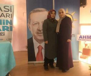 AK Parti Altıntaş İlçe Kadın Kolları Başkanlığı'na Ayşe Aslan seçildi