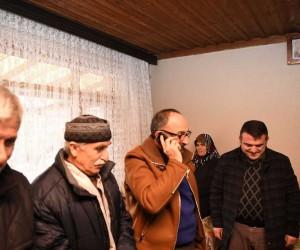 Başkan Üzülmez Kartepe'den Afrin'e bağlandı