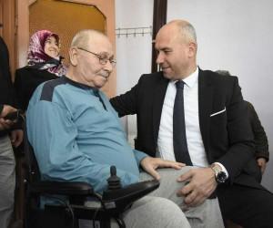 Tekkeköy Belediyesinden akülü sandalye yardımı
