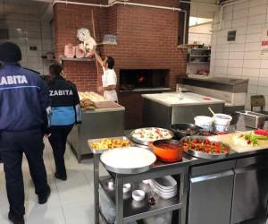 Erbaa'da zabıta ekiplerinden restoran, lokanta denetimi