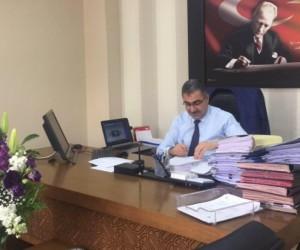 İnegöl Vergi Dairesi eski müdürü Yalçın Ertaş Ilgın Belediye Başkan Adayı Oldu