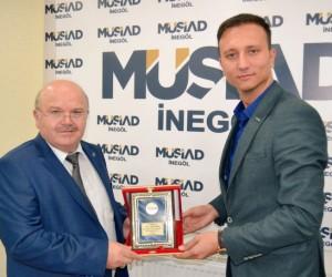 Mustafa Balcı MOSDER başkanı oldu
