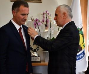 AK Parti İnegöl Belediye Başkan adayı Alper Taban