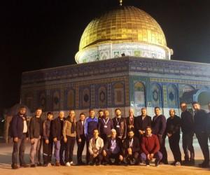İnegöl'den Kudüs'e çıkarma
