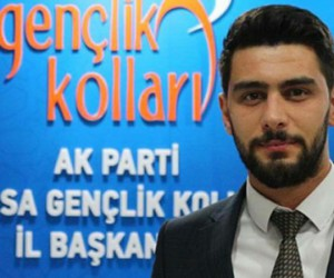 Saltuk Celil Bayrak AK Parti Gençlik Kolları Başkan Yardımcısı oldu