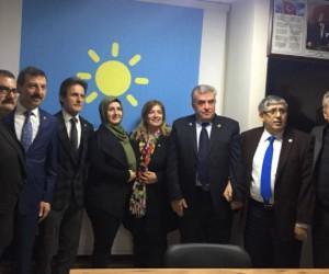 MHP'den istifa edip İYİ Partili oldular