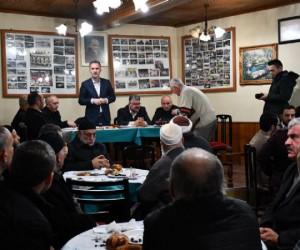 Bereket Sofrası Tabakoğlu Cami'de Kuruldu
