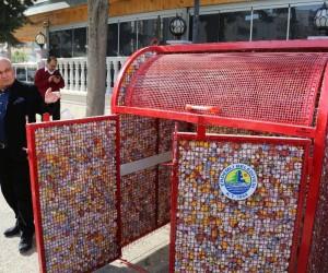 Erdemli'ye yeni model hijyenik çöp konteyneri