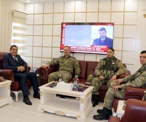 İsmail Hakkı Paşa'dan Başkan Atilla'ya ziyaret